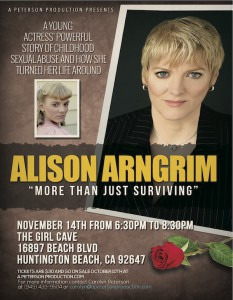 """Alison Arngrim - """"More Than Just Surviving"""" @ The Girl Cave 